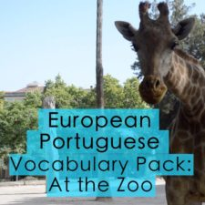 European Portuguese Vocabulary – At the Zoo