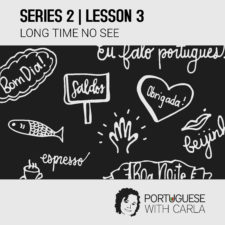 Lesson 3 (Series 2) – Long Time No See